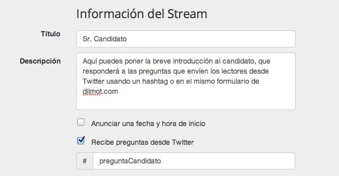 Publica un encuentro digital con un político que recibe preguntas desde Twitter