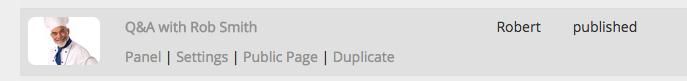Duplicate stream configuration