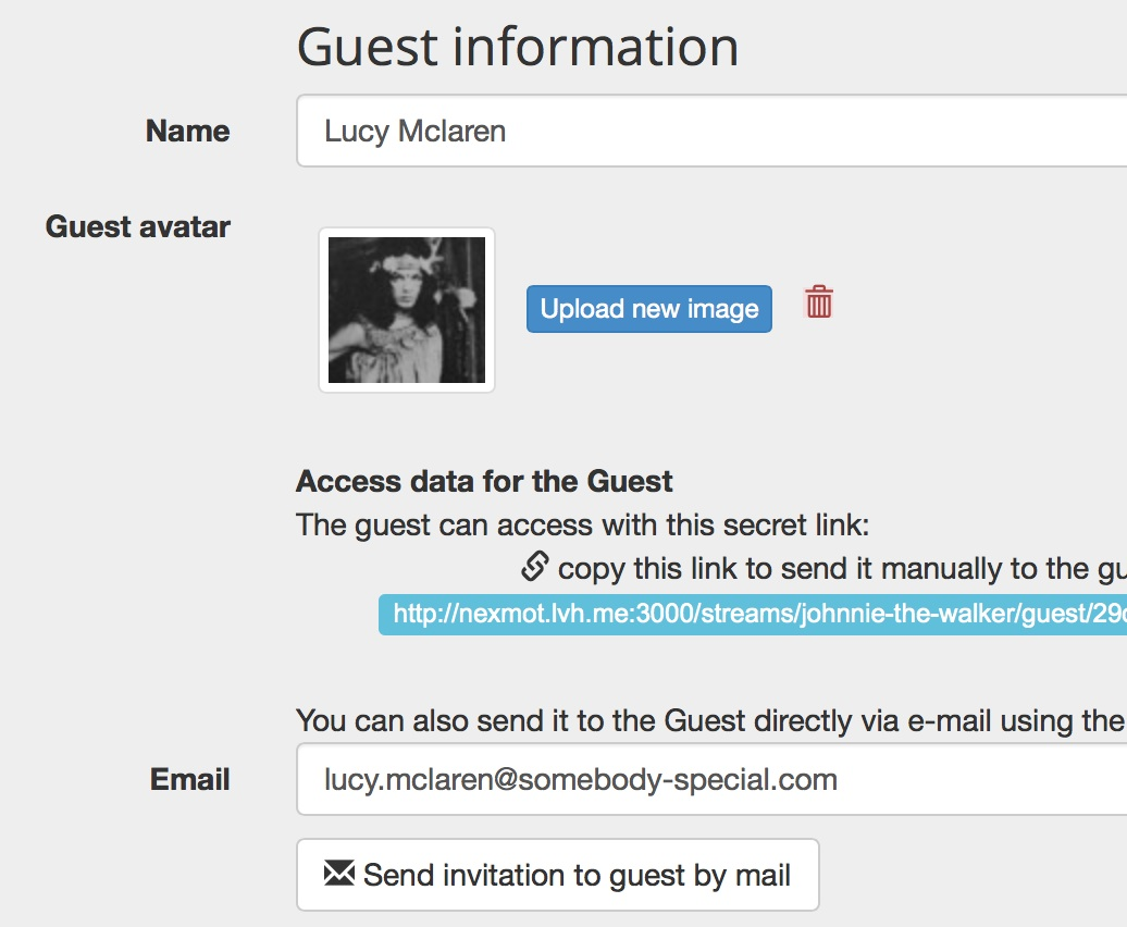 Dilmot guest information section